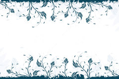 Vector Floral Swirl Bacground Royalty Free Stock Images