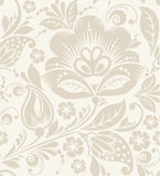 Vector Floral Vintage Rustic Seamless Pattern Royalty Free Stock Images