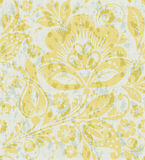 Vector Floral vintage rustic seamless pattern Stock Images