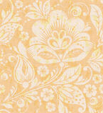 Vector Floral vintage rustic seamless pattern Stock Photos