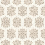 Vector Floral vintage rustic seamless pattern Royalty Free Stock Image