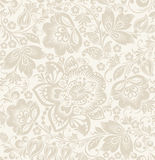 Vector Floral vintage rustic seamless pattern Stock Image
