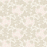 Vector Floral vintage rustic seamless pattern Royalty Free Stock Photo