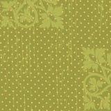 Vector floral wallpape Stock Photos