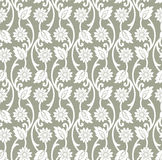 Vector floral wallpaper Royalty Free Stock Images