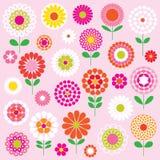Vector flores Imagem de Stock