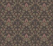 Vector flourish seamless pattern Stock Image