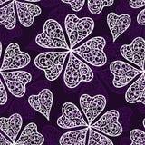 Vector flourish seamless pattern Stock Images