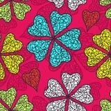 Vector flourish seamless pattern Royalty Free Stock Photos