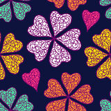Vector flourish seamless pattern Royalty Free Stock Images