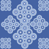 Vector flower abstract ornaments embroidery. Royalty Free Stock Images