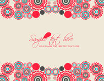 Vector flower background Royalty Free Stock Image