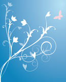 Vector Flower Background Royalty Free Stock Photography