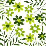 Vector flower background design Stock Photo