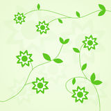 Vector flower background Royalty Free Stock Photo