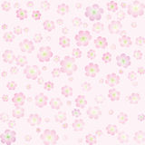 Vector flower background stock images
