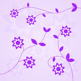 Vector flower background Royalty Free Stock Images
