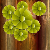 Vector flower background Stock Photo