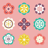 Vector flower design stock image