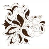Vector flower design, Stock Image