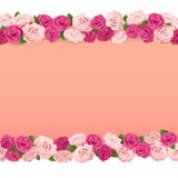 Vector Flower Frame Royalty Free Stock Photography
