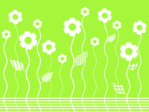 Vector flower garden Royalty Free Stock Photo