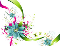 Vector flower illustration Royalty Free Stock Photo