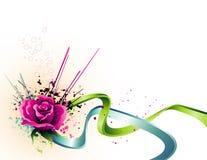 Vector flower illustration Stock Image