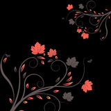 Vector flower illustration Stock Image