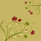 Vector flower illustration Stock Photography