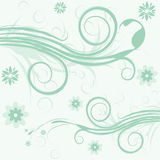 Vector flower illustration Royalty Free Stock Photos