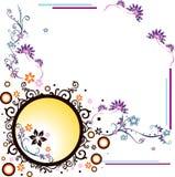 Vector flower illustration Stock Photos
