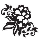 Vector flower ornament Stock Photography