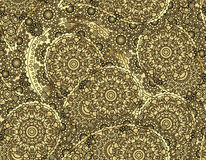 Vector flower paisley seamless pattern element. Elegant texture for backgrounds.  Stock Images