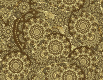 Vector flower paisley seamless pattern element. Elegant texture for backgrounds.  Royalty Free Stock Images