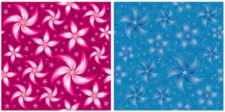 Vector flower pattern stock illustration