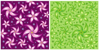 Vector flower pattern Stock Photography
