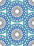 Vector flower pattern ornament. Elegant luxury texture for textile, fabrics or wallpapers backgrounds. stock images