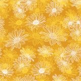 Vector Flower Seamless Background Royalty Free Stock Image