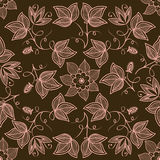 Vector flower seamless pattern Stock Photography