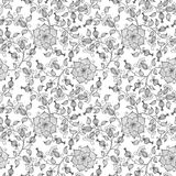 Vector flower seamless pattern background. Elegant texture for backgrounds. Classical luxury old fashioned floral. Ornament, seamless texture for wallpapers vector illustration