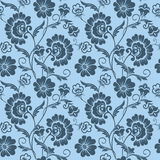 Vector flower seamless pattern background. Elegant texture for backgrounds. Classical luxury old fashioned floral stock illustration