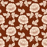 Vector flower seamless pattern background. Elegant texture for backgrounds. Classical luxury old fashioned floral Stock Photo