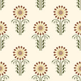 Vector flower seamless pattern background. Elegant texture for backgrounds. Classical luxury old fashioned floral. Ornament, seamless texture for wallpapers Royalty Free Stock Image
