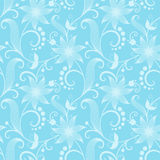 Vector flower seamless pattern background. Elegant texture for backgrounds. Classical luxury old fashioned floral Stock Images