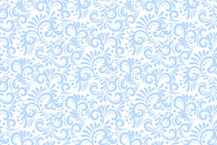 Vector flower seamless pattern background. Elegant texture for backgrounds. Classical luxury old fashioned floral. Ornament, seamless texture for wallpapers royalty free illustration