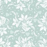 Vector flower seamless pattern element. Elegant texture for backgrounds. Classical luxury old fashioned floral ornament. Seamless texture for wallpapers royalty free illustration