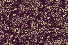 Vector flower seamless pattern element. Elegant texture for backgrounds. Classical luxury old fashioned floral ornament. Seamless texture for wallpapers Royalty Free Stock Photography