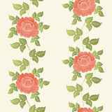 Vector flower seamless pattern element. Elegant texture for backgrounds. Classical luxury old fashioned floral ornament Stock Photography
