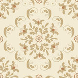 Vector flower seamless pattern element. Elegant texture for backgrounds. Classical luxury old fashioned floral ornament Stock Image